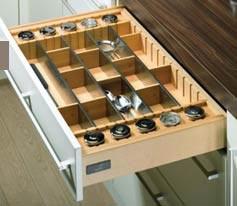 Cocinas accesorios cajones tiradores - Divisori per cassetti cucina ...