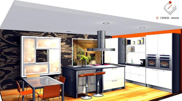 Dise o de cocinas modernas cl sicas r sticas for Cocinas modernas para espacios pequenos