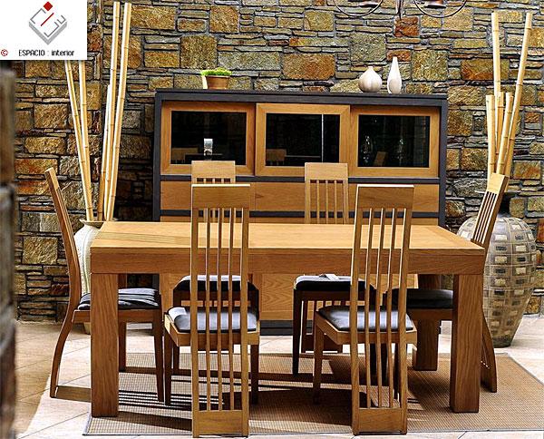 Comedor inspiraciones de madera for Muebles comedor disea o