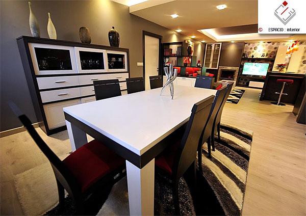 Dise o de muebles a medida dormitorio sal n comedor - Diseno salon comedor ...