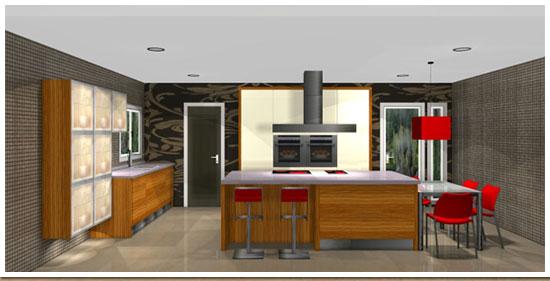 Cocinas planos y proyectos dise o y presupuestos for Proyecto muebles de cocina